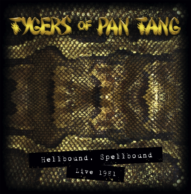 TYGERS OF PAN TANG va sortir un live en décembre 2018 ... Tygers10
