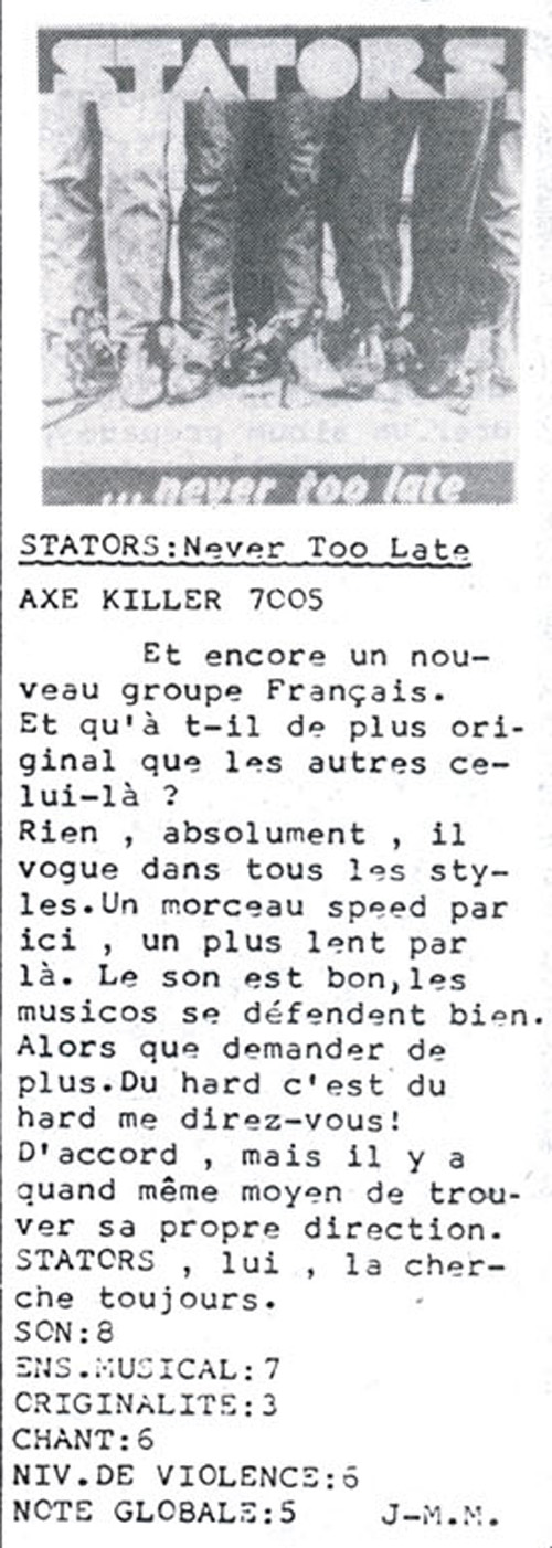 STATORS Never Too Late (1985 - 2017) Réédition ou non ? Tympan10