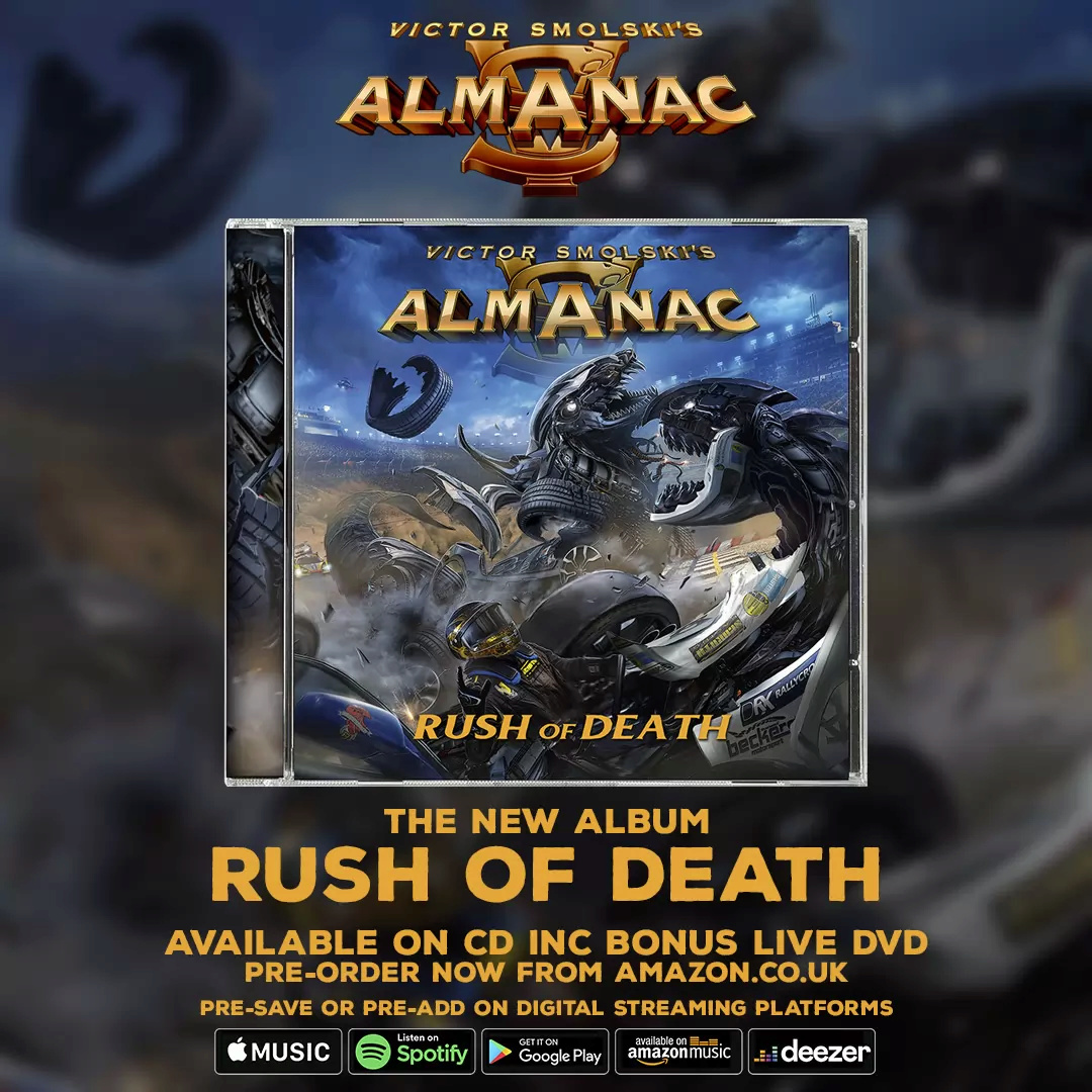 ALMANAC Rush of Death (2020) Heavy/Power ALLEMAGNE Unname18