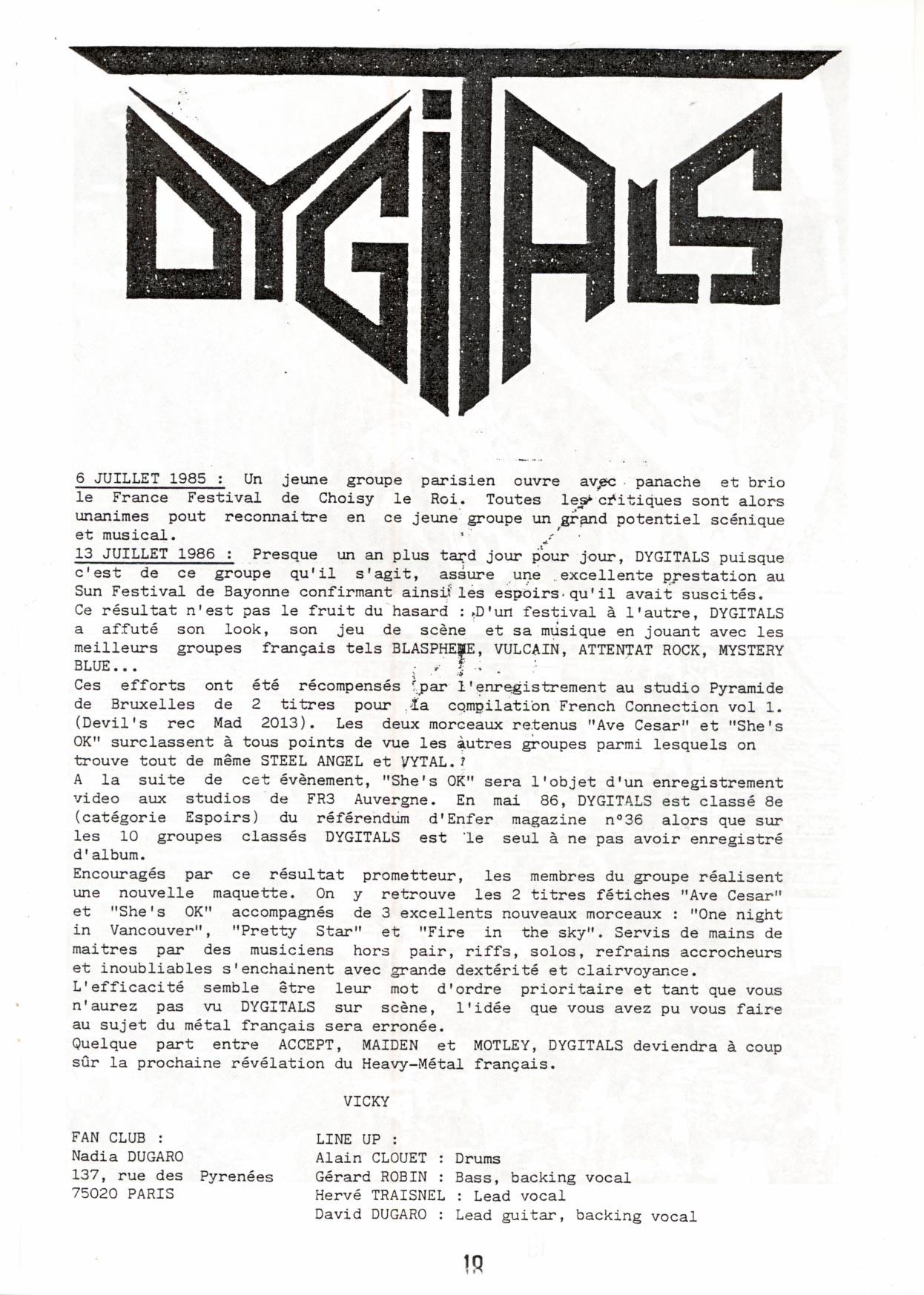 DYGITALS Interview (Fanzine ECLAT DE METAL n°15 oct/nov 1986). Untitl12