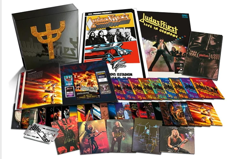 JUDAS PRIEST sortira un énorme coffret de 42 CD en octobre 2021 ! Untitl35