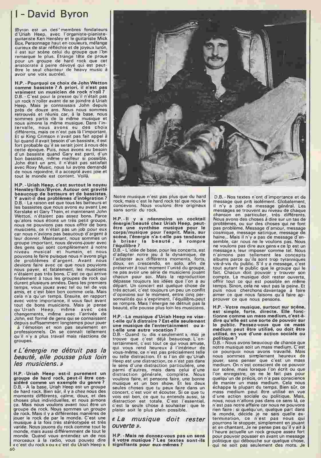URIAH HEEP Par lui même ... (BEST Juillet 1975) Archive à lire Uriah-12
