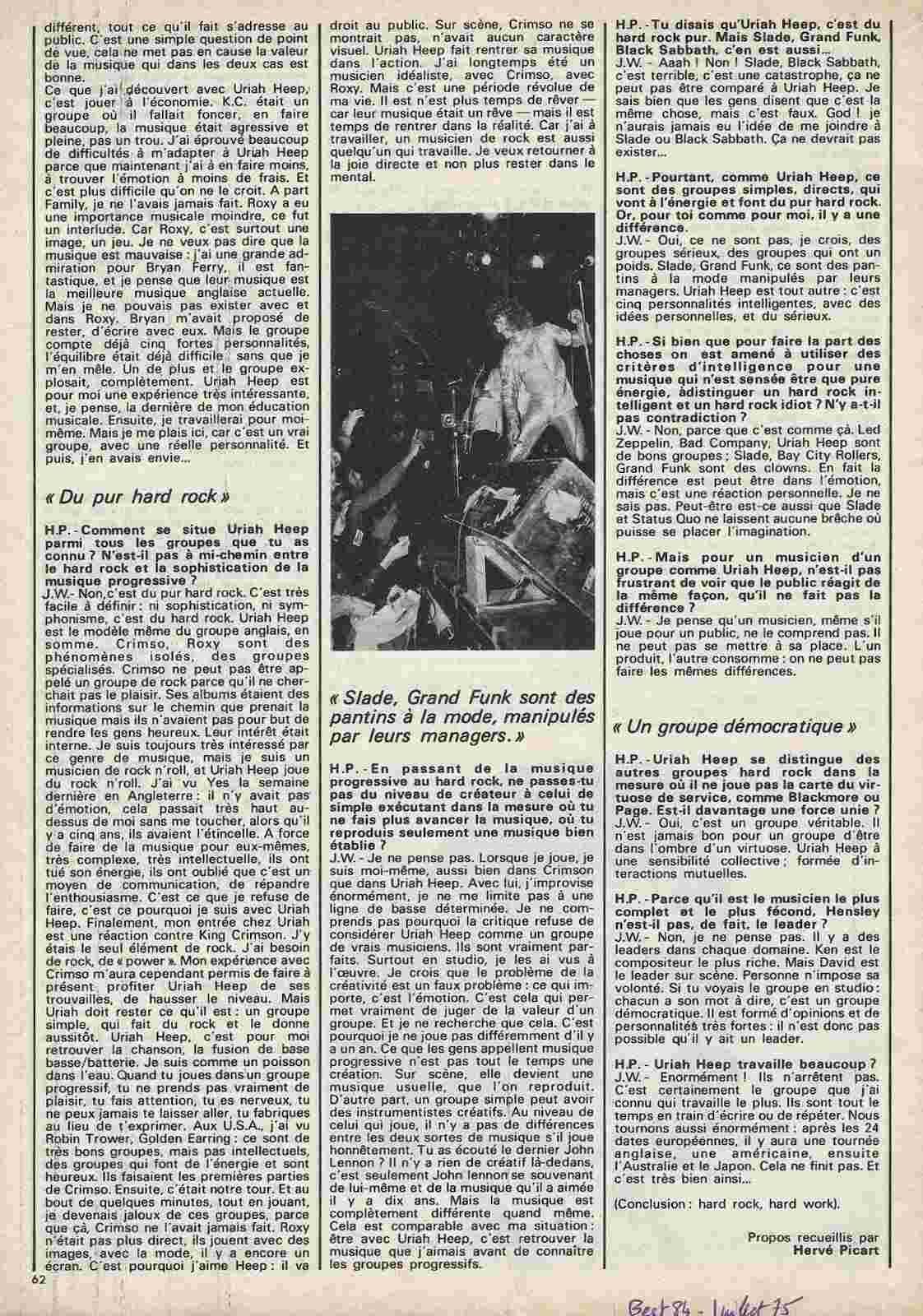 URIAH HEEP Par lui même ... (BEST Juillet 1975) Archive à lire Uriah-13