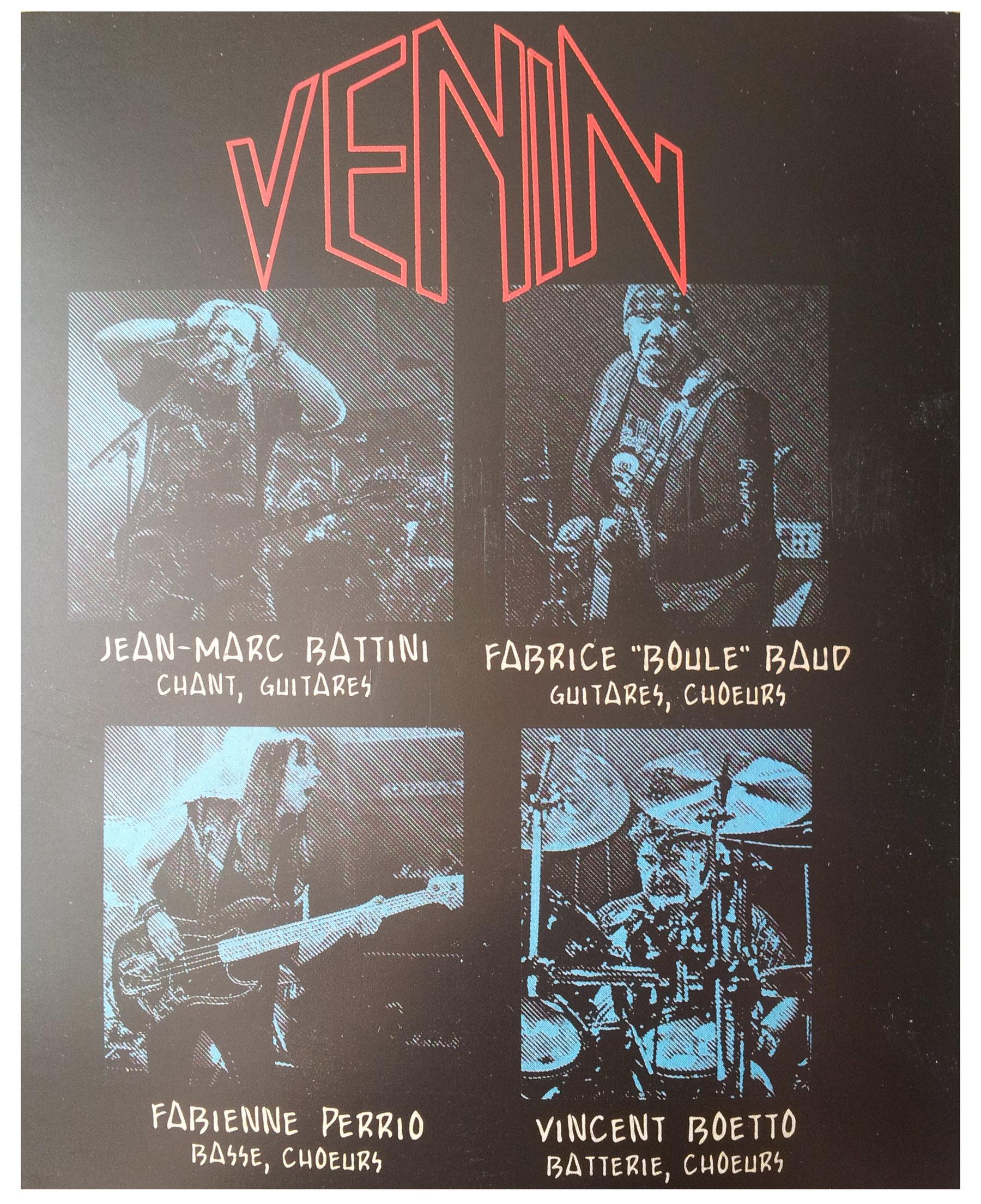 VENIN : les chansons du dernier album ... Venin10