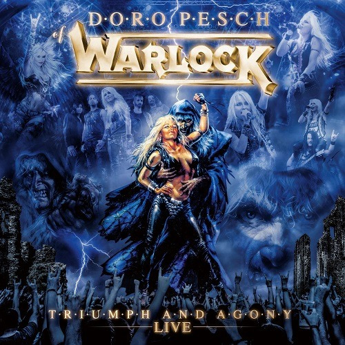 WARLOCK Triumph And Agony Live (2021) 35th Anniversaire Heavy Metal Allemagne Warloc11