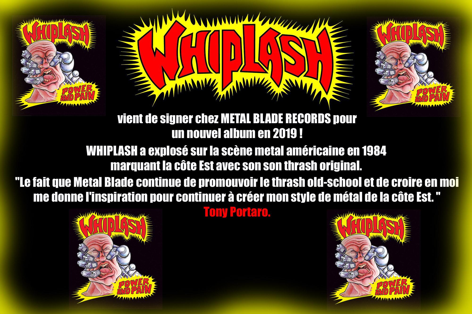 WHIPLASH vers un nouvel album en 2019 ... Whipla10