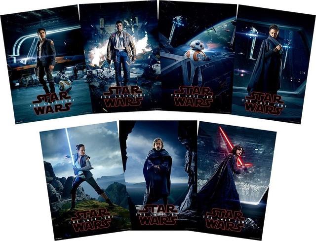 Star Wars - Les Derniers Jedi (Star Wars: The Last Jedi) - Boîte Premium JAPAN 71g7qh11