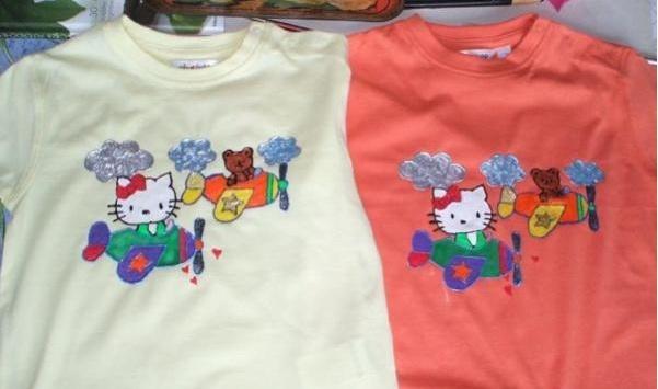 TUTO Peinture sur tissu - motifs sur tee shirts Captur10