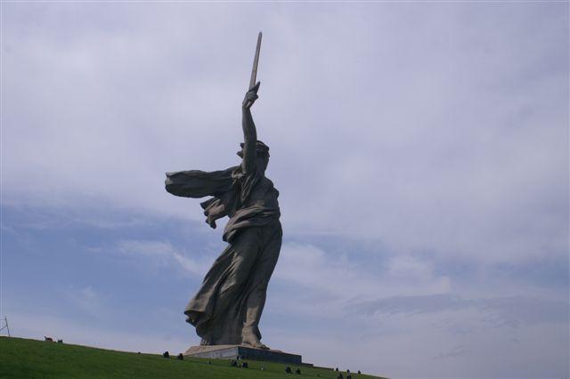 Volgograd, cérémonies commémorant la Victoire Mamaae12