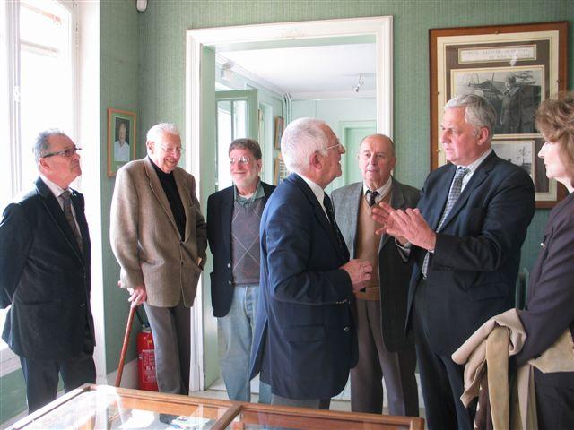 M. l'Ambassadeur de Russie visite le Musée Visite10