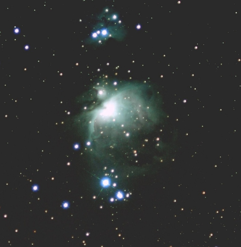 La Nébuleuse d'Orion - M42 re... M42s10