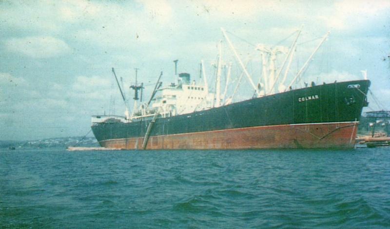 Reconversion d'un Liberty Ship en cargo civil Colmar10