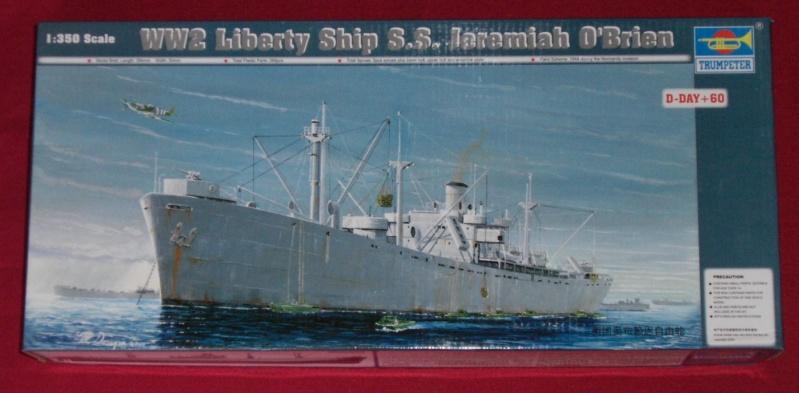 Reconversion d'un Liberty Ship en cargo civil Libert10