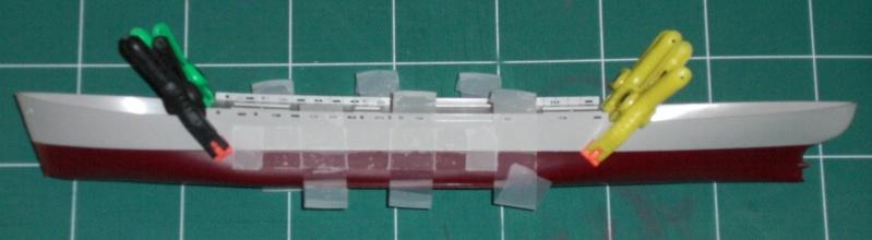 Reconversion d'un Liberty Ship en cargo civil Libert12