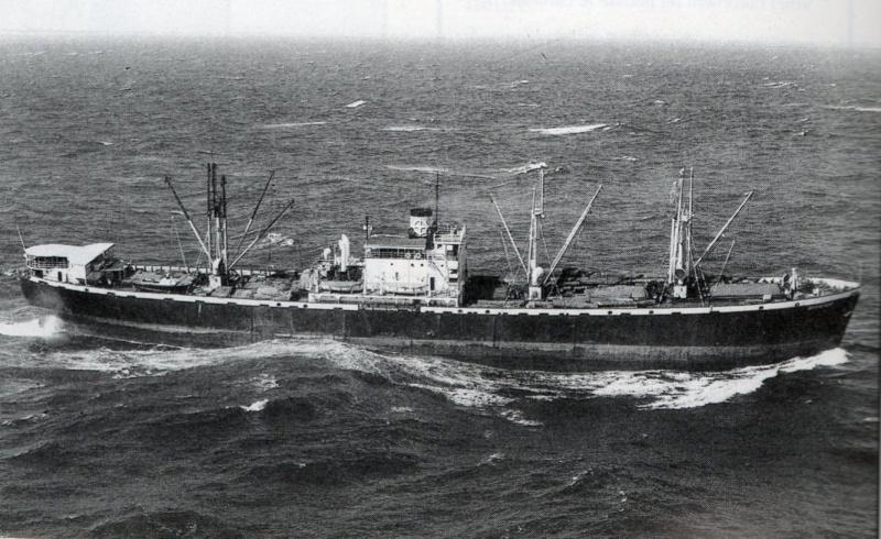 Reconversion d'un Liberty Ship en cargo civil Rochef10
