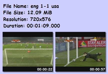 ميديا وأهداف كأس العالم 2010 4310