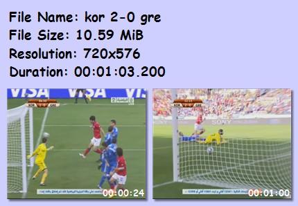 ميديا وأهداف كأس العالم 2010 43510