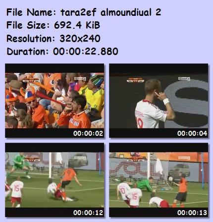 ميديا وأهداف كأس العالم 2010 5412