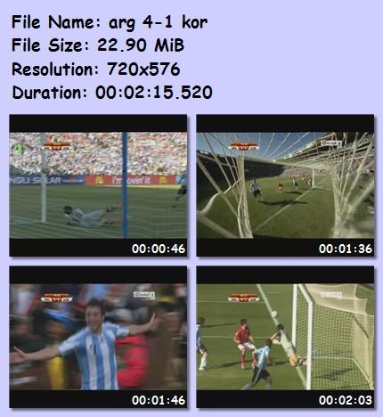 ميديا وأهداف كأس العالم 2010 54710