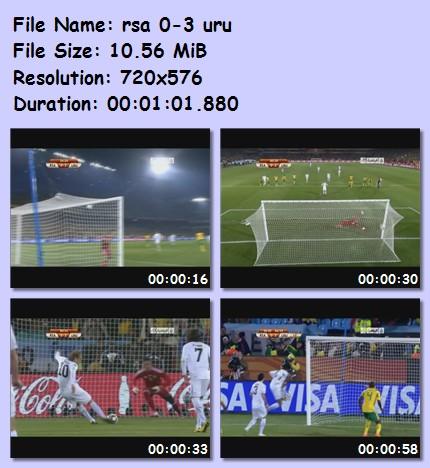 ميديا وأهداف كأس العالم 2010 987610