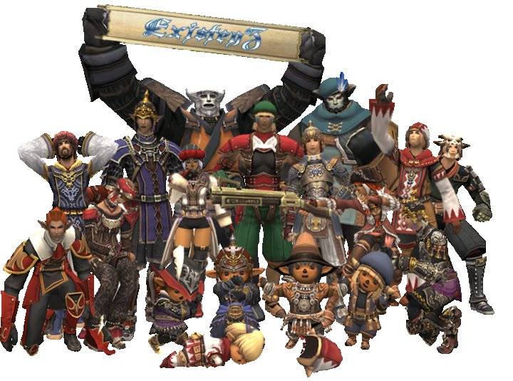 ExistenZ - Final Fantasy XI - XIV