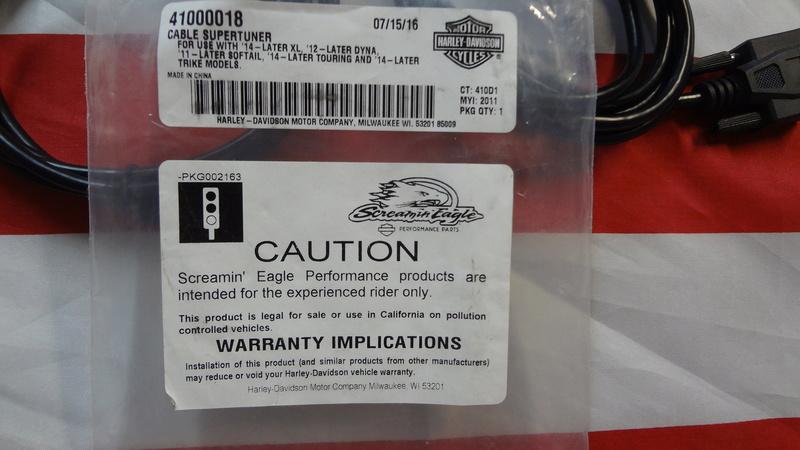 "CABLES ""Supertuner"" pour CARTO ""Screamin 'Eagle"" NEUF !! Dsc04818"