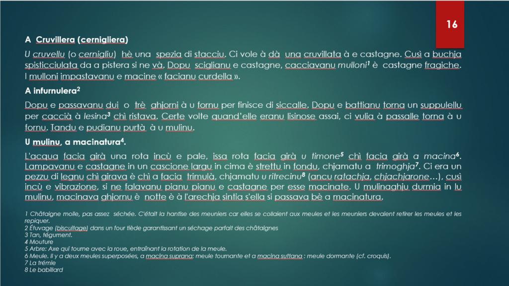 ISULA QUIZU CASTAGNA - Risposte è spiicazione. 1610