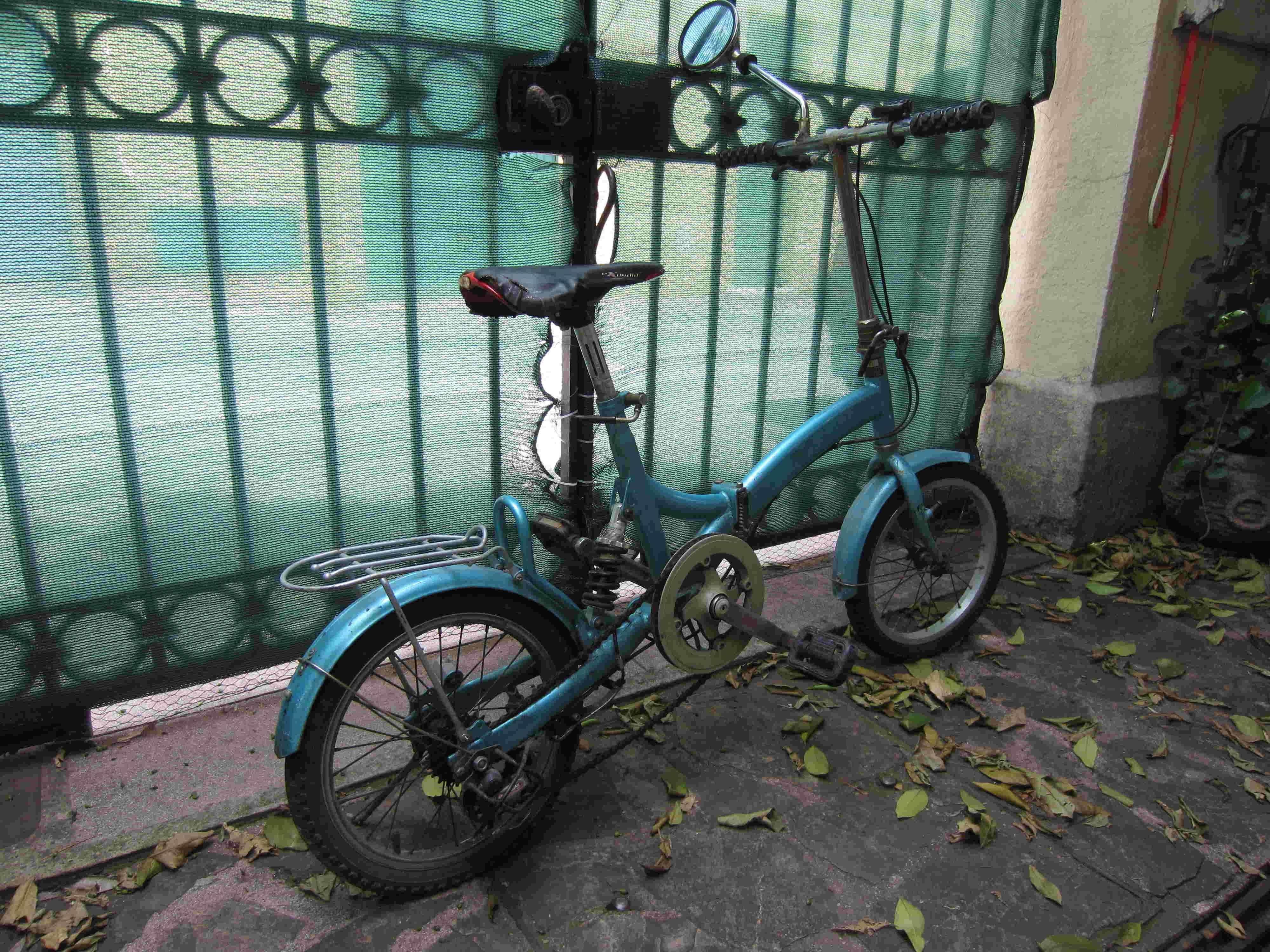 Vélo pliant Qile Duo - Y type 16 pouces Img_4230