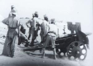 75 Mle 1919 section d'artillerie de Largeau  4_cano11