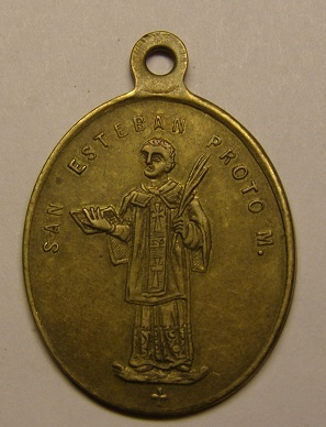 Medalla de la Virgen del Tura / San Esteban, Olot. (R.M SXIX-O88) (MAM) P1010018