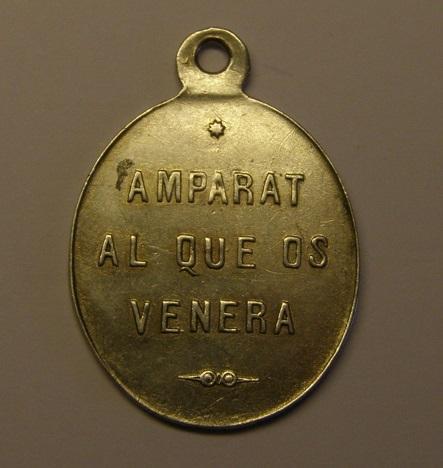 Medalla del Santo Cristo de Piera. Finales siglo XIX. (R.M. SXIX-O93) P1010020