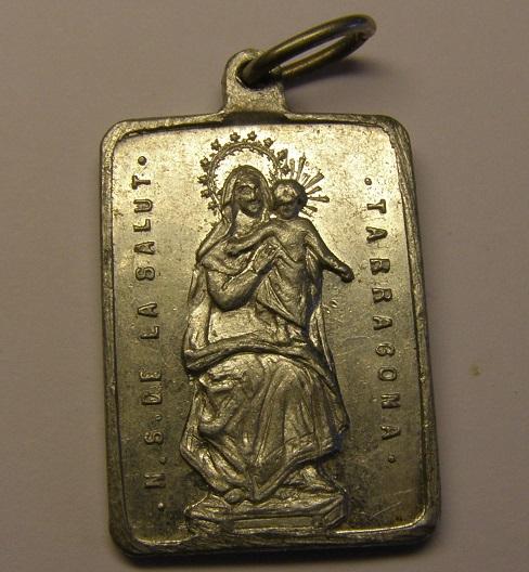 Medalla de Nª Sª de la Salut, Tarragona.  (MAM) P1010023