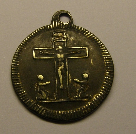 San Francisco Regis / Cruz con orantes, S. XIX (R.M. SXIX-C30 ) P1010028