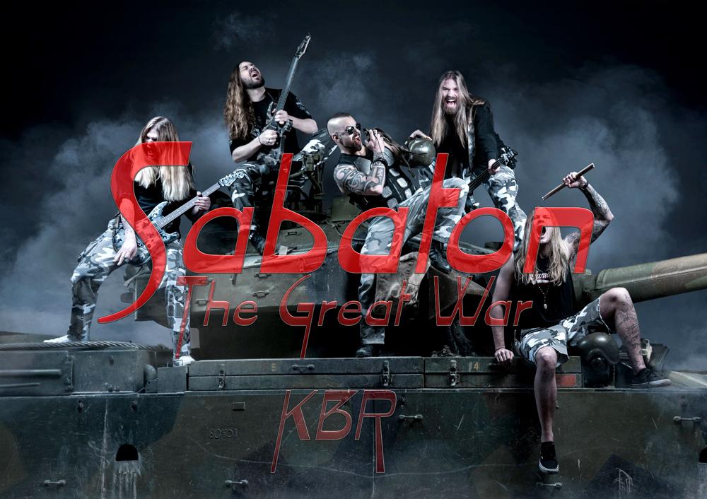Sabaton - The Great War(cd1-cd2) Band_k10