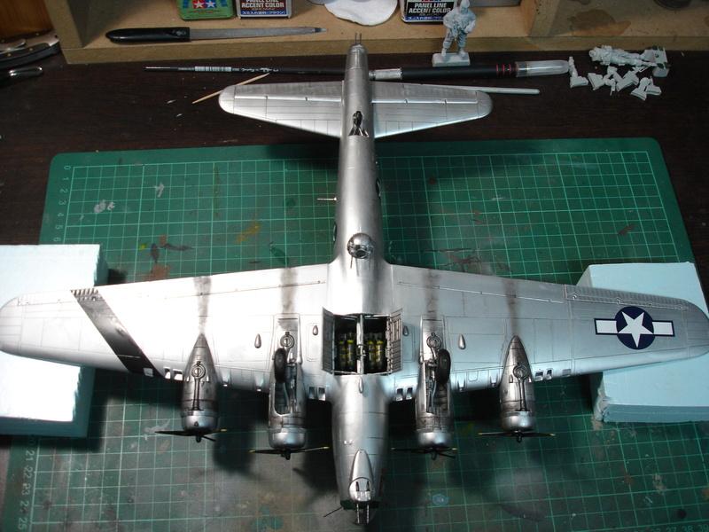 Boeing B-17G Flying fortress 1/72 Airfix Dsc00213