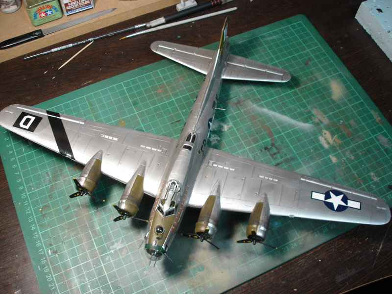 Boeing B-17G Flying fortress 1/72 Airfix Dsc00214