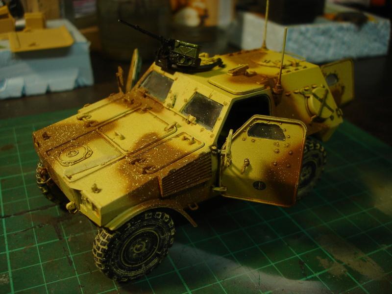VBL  french armour car version Daguet - Hobby Boss 1:35 Dsc00215