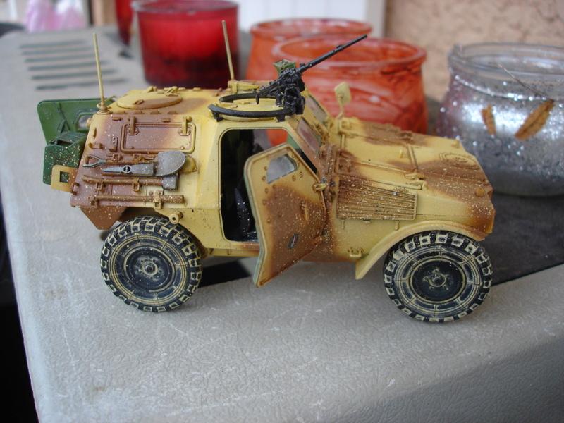 VBL  french armour car version Daguet - Hobby Boss 1:35 Dsc00225