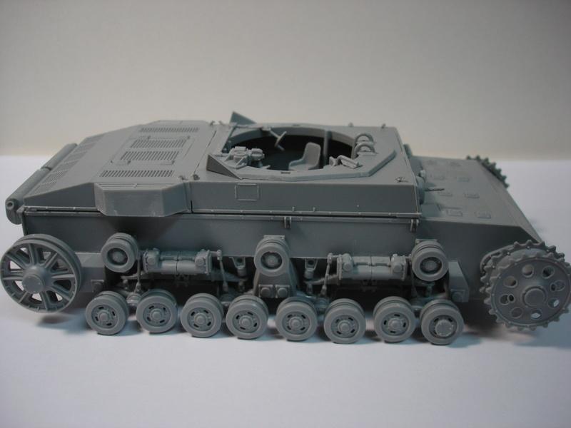 Pz.kpfw III ausf B 1:35 Miniart Dsc00245