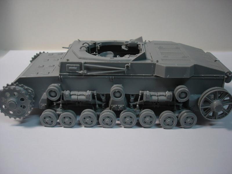Pz.kpfw III ausf B 1:35 Miniart Dsc00246