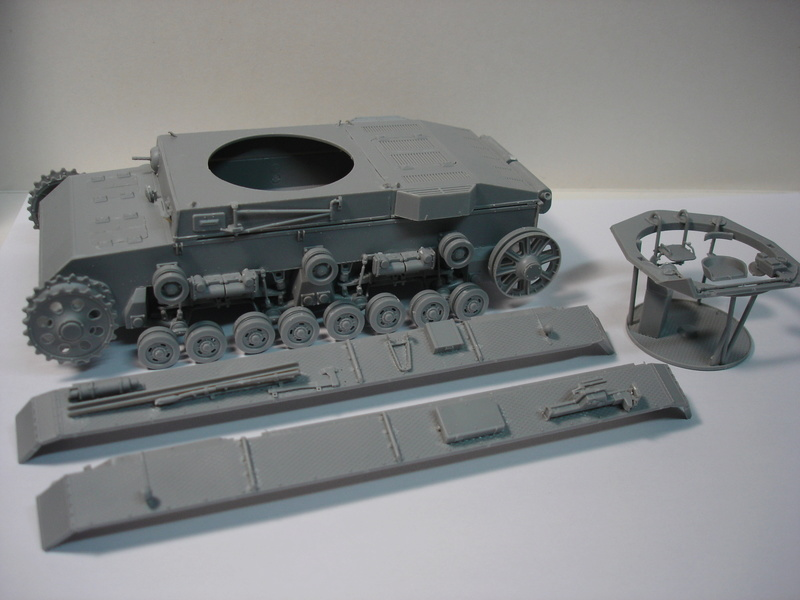 Pz.kpfw III ausf B 1:35 Miniart Dsc00247