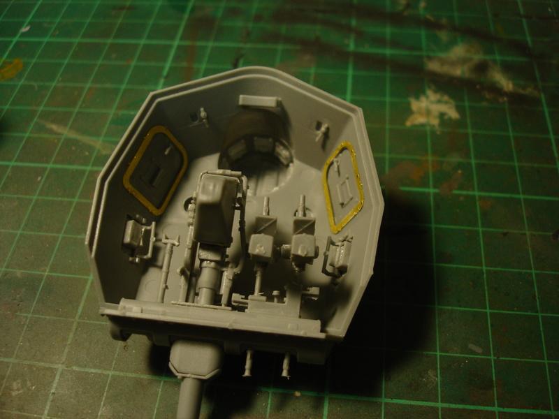 Pz.kpfw III ausf B 1:35 Miniart Dsc00250
