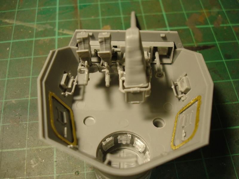 Pz.kpfw III ausf B 1:35 Miniart Dsc00251