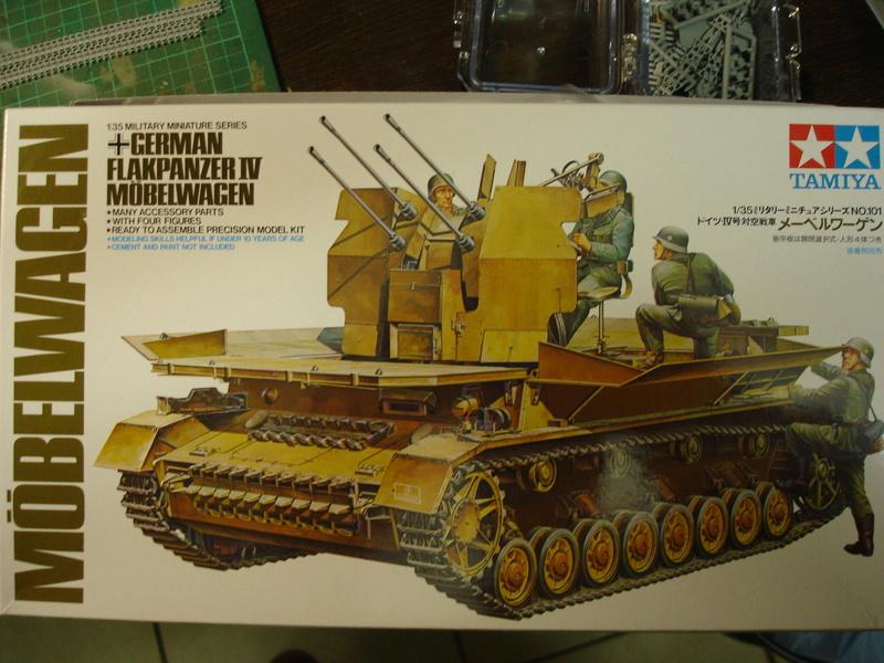 Flakpanzer IV Möbelwagen - Tamiya 1:35 Dsc00257