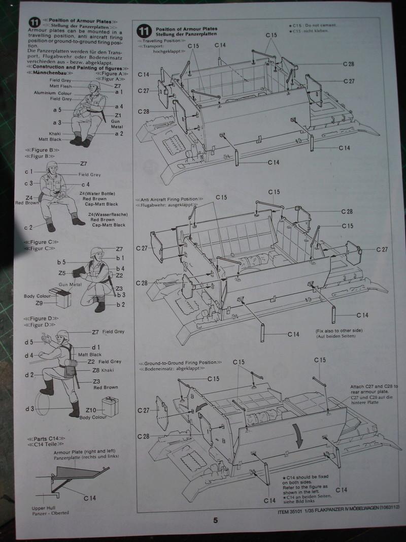 Flakpanzer IV Möbelwagen - Tamiya 1:35 Dsc00267