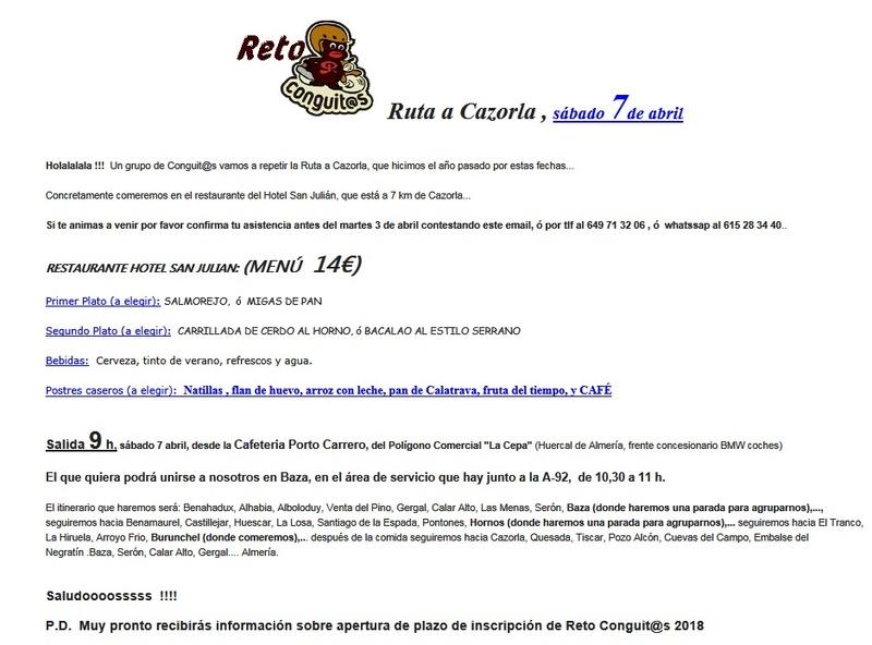 Ruta a Carzorla el 7 de Abril con los Conguitos. Cazorl10