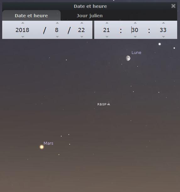 2018: le 23/08 à 21h30 - Lumière étrange dans le ciel  -  Ovnis à Perpignan -Pyrénées-Orientales (dép.66) Stelar10