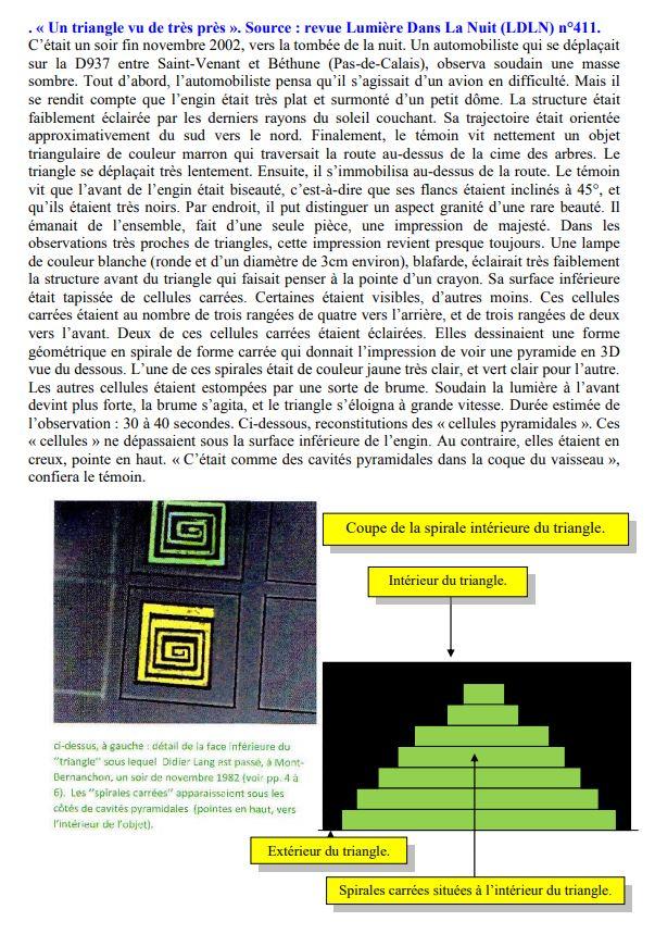 Doit-on croire la théorie de Meessen Triang11