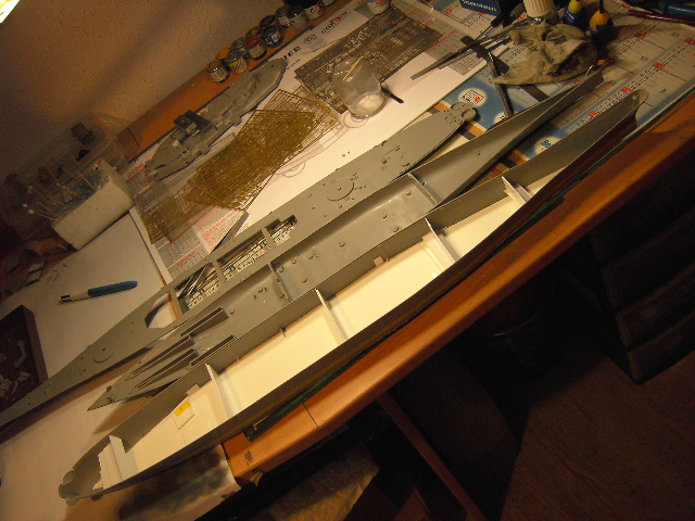 U.S.S New Jersey BB-62 1/350 REVELL limited edition - Page 2 Pict9416