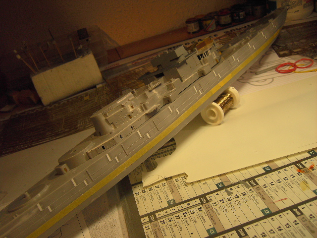 U.S.S New Jersey BB-62 1/350 REVELL limited edition - Page 2 Pict9420